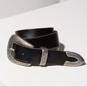 UO Ecote Metal-Tipped Western Belt